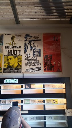 Royal Theatre: Old movie posters and movie slides