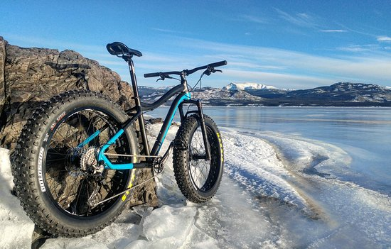 Whitehorse, Canadá: Never cycled on a lake? You could this winter.