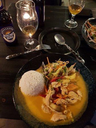 Diner asiatique delicieux