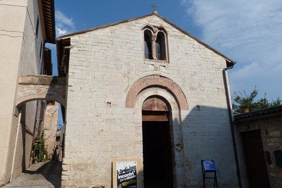 Spello, Italien: Facciata