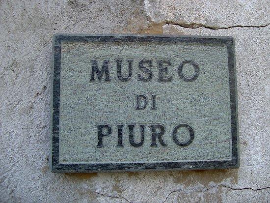 Piuro, إيطاليا: Museo aperto da giugno-settembre sabato-domenica 15/17 altri periodi info@piuro italosvizzera.ne
