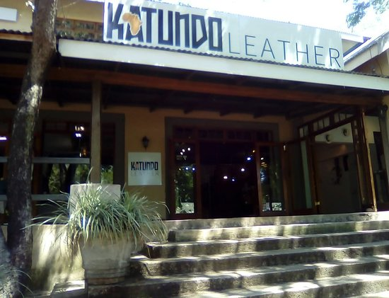 Hazyview, Sydafrika: Katundo Leather Shop