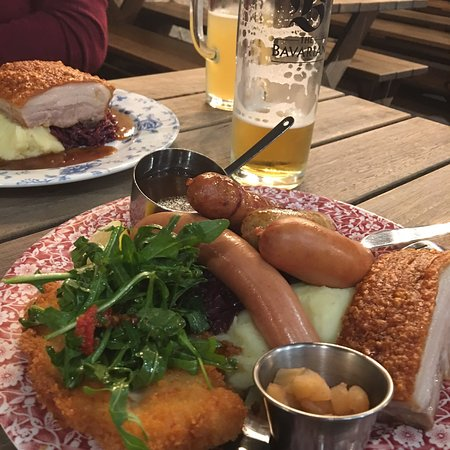 Rouse Hill, ออสเตรเลีย: The Taster Plate of The Bavarian.