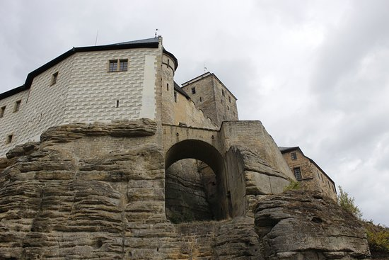 Sobotka, Czech Republic: pohľad zospodu