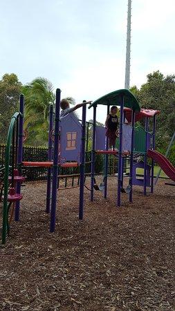 Pottsville, Australien: playground facilities