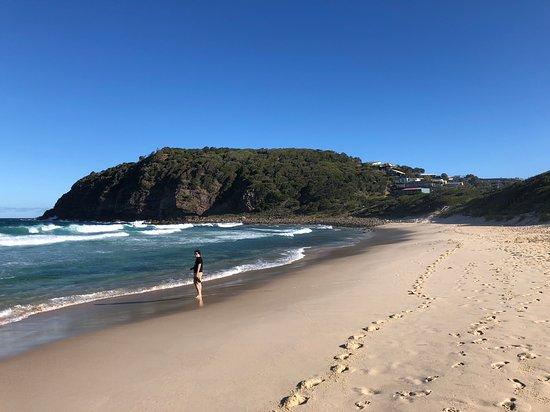 Blueys Beach, Australien: Boomerang beach