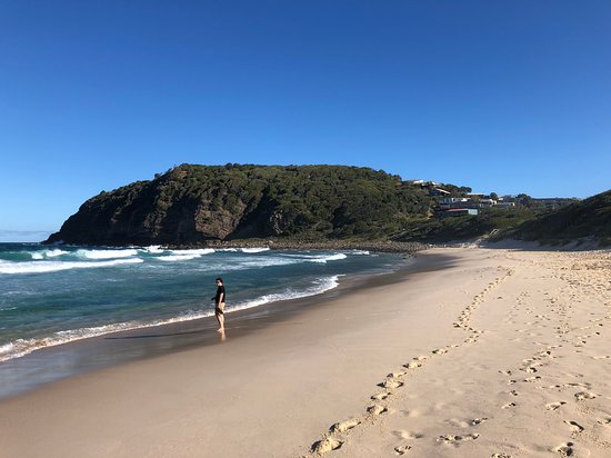 Blueys Beach, Australia: Boomerang beach