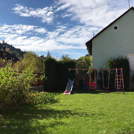 Vimperk, Česká republika: Kleiner Spielplatz