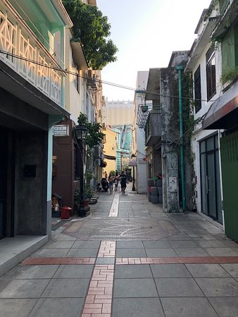 Taipa Village Macau: The streets of the village