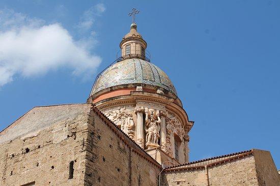 Chiesa del Carmine Maggiore: Cupola Chiesa di Santa Maria del Carmine