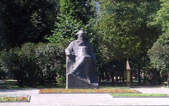 L.T. Tolstoy Monument