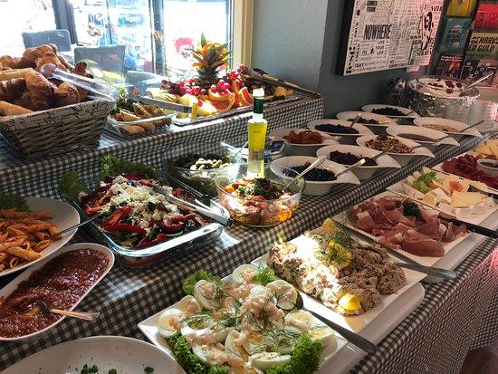 brunch buffet frederiksberg