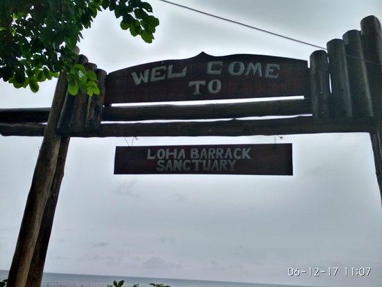 Wandoor, Indien: Entrance to Lohabarrack Sanctuary