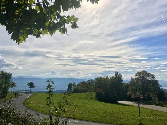 Duernten, Szwajcaria: Hasenstrick / Bachtel herrliches Panorama im Züri Oberland