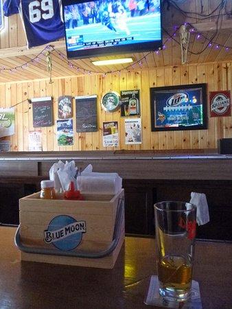 Chisholm, MN: Bar view