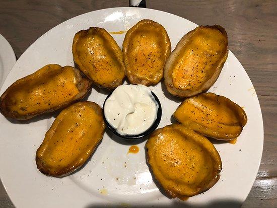Rego Park, نيويورك: Potato skins