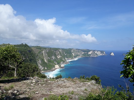 Nusa Penida, Indonesia: view from the viewpoint