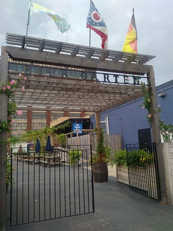 The Dayton Beer Company (Downtown): There is an outside biergarten as well.