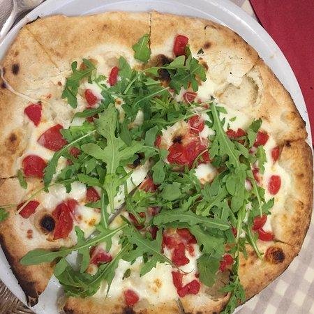 Trattoria Italia: Pizza ottima