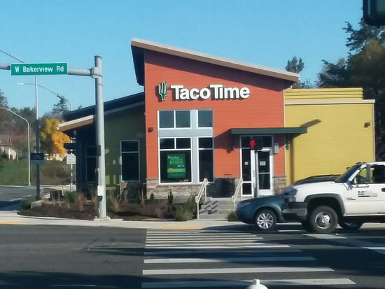 Fred Meyer Bakerview >> Across From Fred Meyer Picture Of Taco Time Bellingham