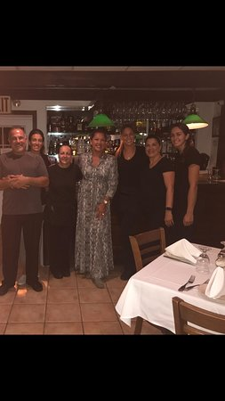 Westhampton Beach, NY: We were delighted to have the beautiful & gratious Vanessa Williams at Baby Moon!