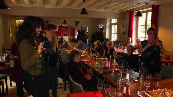 Poigny la Foret, Prancis: Fête d'anniversaire très sympatique..