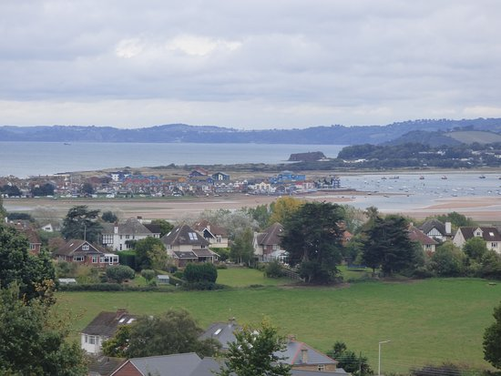 A La Ronde: A different view of the estuary and torbay