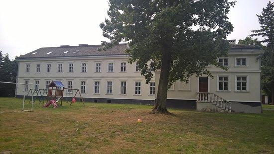 Sarbinowo, Poland: Rückseite des Palac
