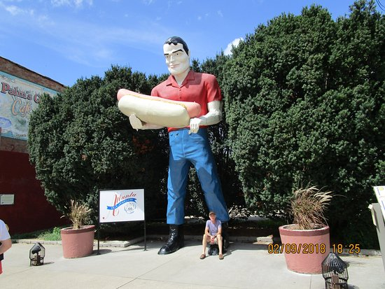 Atlanta, إلينوي: Paul Bunyan