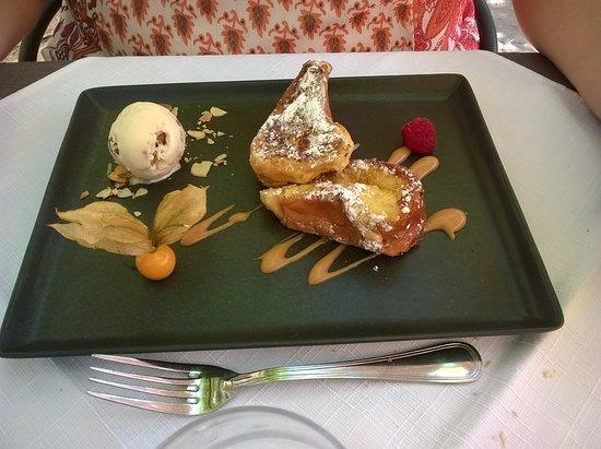 Le dessert de ma femme, pogne de Romans façon pain perdu