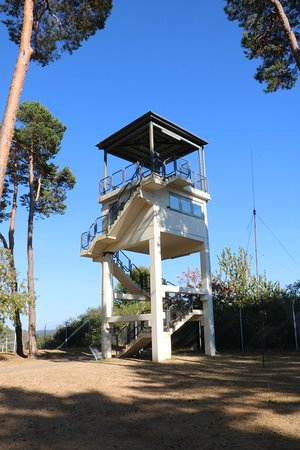 Geisa, Jerman: US Army observation tower