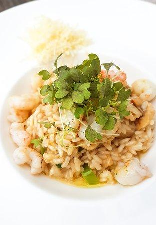 Restaurant Kastel: Shrimp & Scallop Risotto