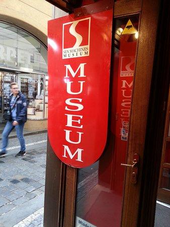 Admissions fee sex machine museum