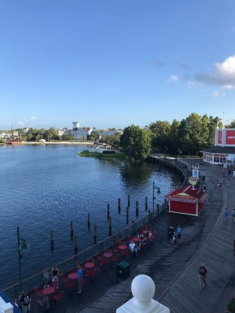 Disney's BoardWalk Inn : View from balcony