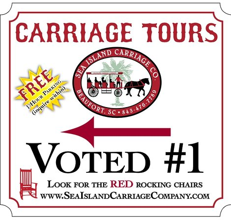 Sea Island Carriage Company: 1 hour of FREE parking with tickets purchased in our store front ♥️