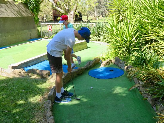 Wodonga, Australia: Mini golf