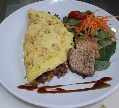 Point Açaí Matriz e Restaurante Light: Omelete de atum