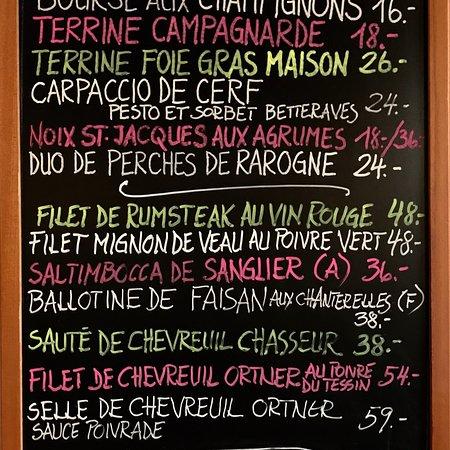 Bourg-en-Lavaux, Schweiz: Cafe de Riex