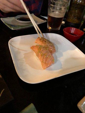 Japon del Lago: Excelente este plato! Excelente sushi, atención espectacular...fuimos con nuestra bebé de 1 año