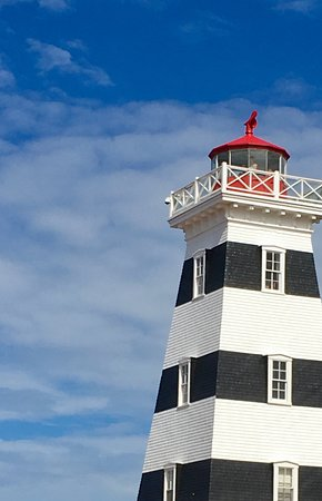 West Point Lighthouse: Lighthouse (not sure why full photo isn't displaying)