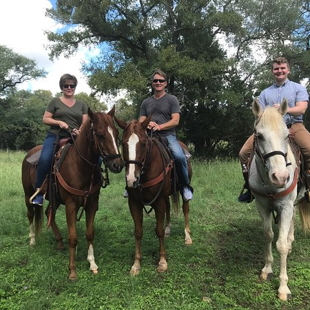 Horseback riding new braunfels