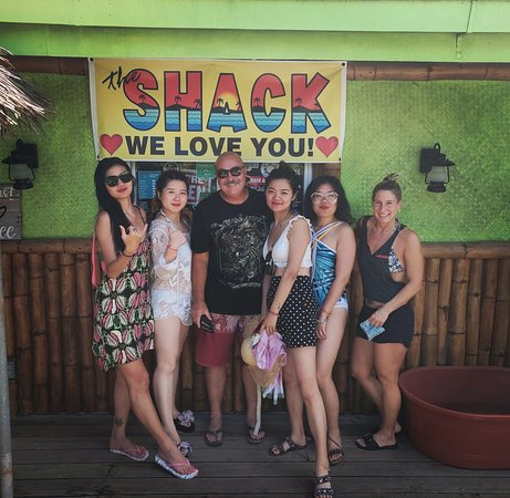 Saipan, Mariana Islands: back to Shack again after two years with my girls and meet Glen
