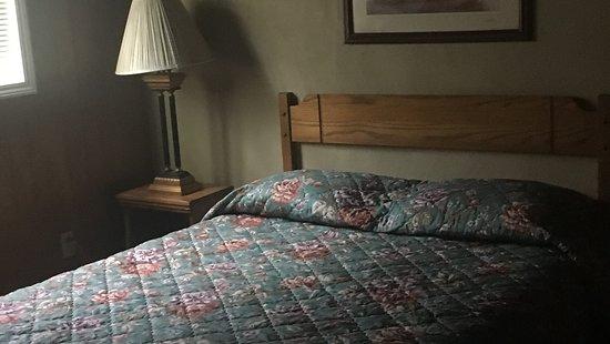 Alto, Nuevo México: Typical Cabin 2 Bedroom Queen