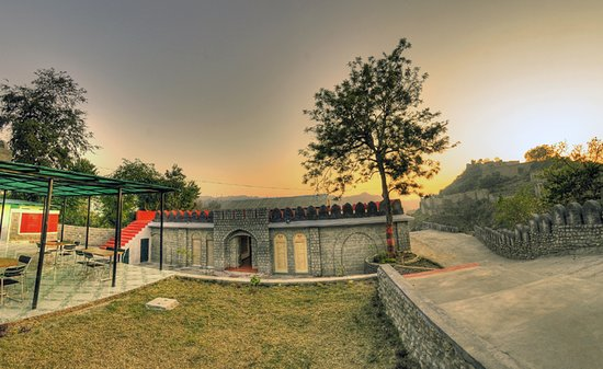 Kangra, Indie: Museum - Outside