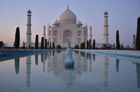 Samme dag Taj Mahal tur fra Delhi med...