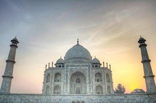 Tour el mismo día en Taj Mahal en tren...
