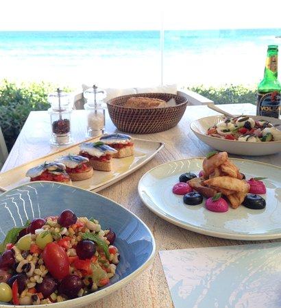 Moutsouna, กรีซ: Wonderful lunches