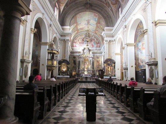 Franciscan Church (Franciskanska cerkev): interno chiesa