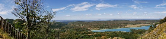 La Chaux-du-Dombief, France: panorama vers le nord