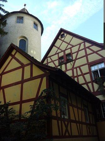 Burg Meersburg: außenansicht . .......